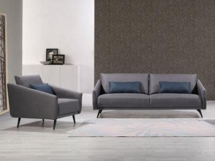Couchgarnitur 3+1 Stoff AZIVA
