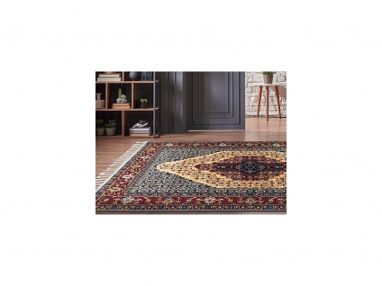 Teppich orientalisch ANKARA - 160 x 230 cm - Rot & Blau