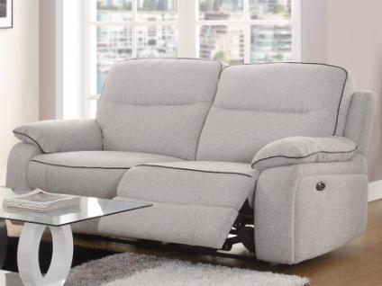 Relaxsofa 3-Sitzer Stoff CATANE