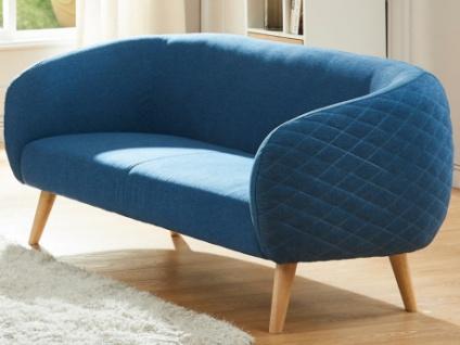 2-Sitzer-Sofa Stoff PENNY - Blau