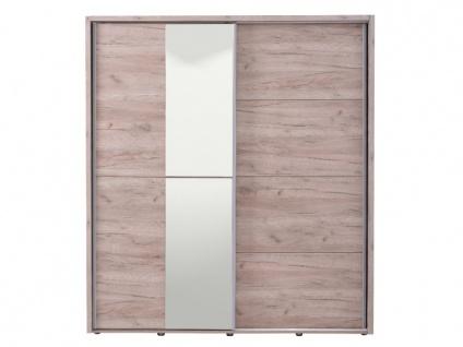 Kleiderschrank mit Spiegel GALINA - B 184cm