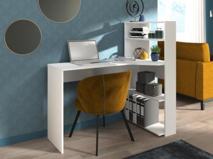 PARISOT Eck-Schreibtisch DELFINO - 4 Ablagen