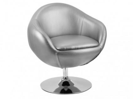 Lounge-Sessel Whisper - Silber
