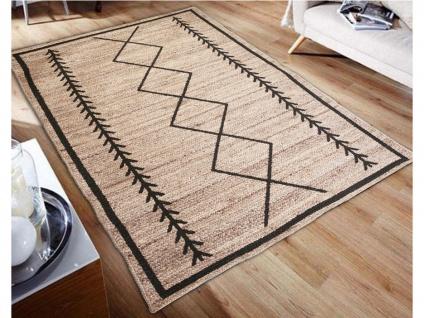 Teppich Ethno-Stil BANGALORE - Jute - 160x230cm - Vorschau 2