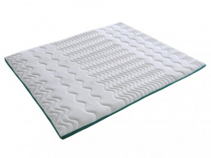 Visco-Matratzenauflage Topper Aloe Vera - 180x200cm