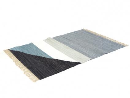 Kelim-Teppich handgewebt MYCENE - Baumwolle - 160x230cm - Vorschau 4