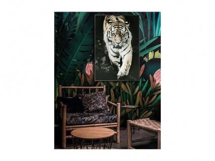 Kunstdruck gerahmt ROAR - 60 x 90 x 2, 5 cm - Schwarz, Weiß & Braun