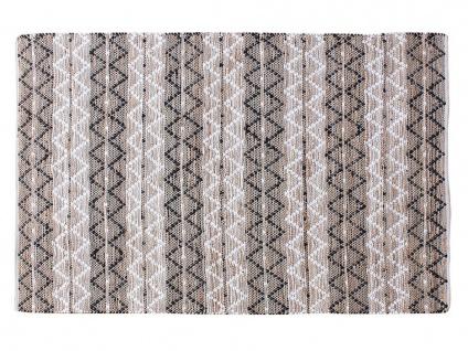 Teppich handgewebt Denim, Hanf & Polyester IFRANE - 160x230cm