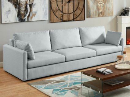 4-Sitzer-Sofa Stoff SANTINO