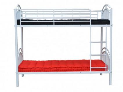 Etagenbett Julien : Etagenbett dormitory 2x90x190cm weiß kaufen bei kauf unique.de