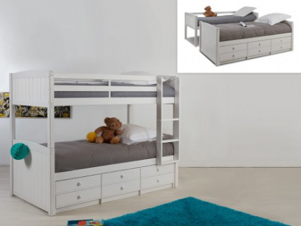 Etagenbett Zu Verkaufen : Etagenbett stapelbett massivholz anchise lattenrost cm