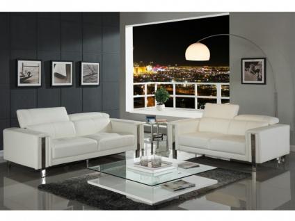 Couchgarnitur 3+2 MAROUA - Weiß - Vorschau 2