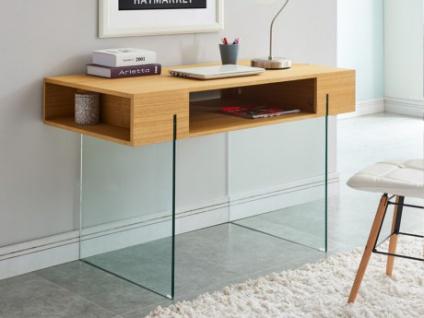 Schreibtisch Glas BROOKE