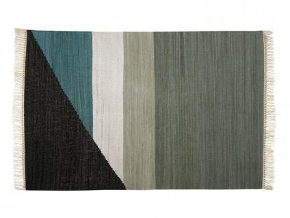 Kelim-Teppich handgewebt MYCENE - Baumwolle - 160x230cm