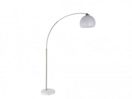 Stehlampe Retro GLOBO - Marmorsockel - H. 168cm