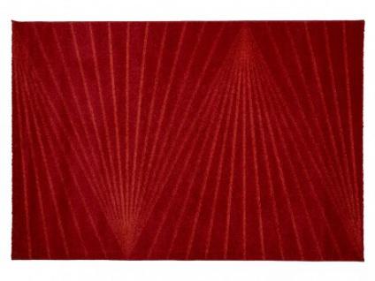 Teppich PALMYRE - Polypropylen - 160x230cm - Rot