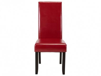 Stuhl 6er-set Rovigo - Rot - Vorschau 4
