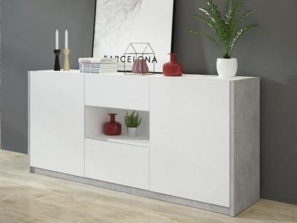 Sideboard PARKER - 2 Türen & 2 Schubladen - Vorschau 1
