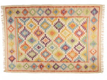 Teppich Leinen Handgetuftet LAZAR - 160x230 cm