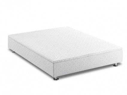 2 in 1 Bettkasten und Bettboden Agnes Weiß - 140x190 cm
