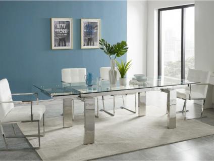 Essgruppe LUBANA: Esstisch + 6 Stühle - Vorschau 5