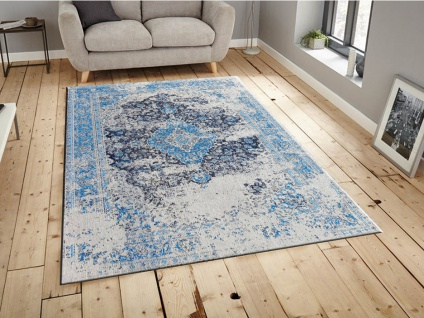 Teppich im Used-Look BRUGES - 100% Polyester - 200x290 cm