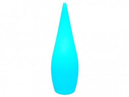 LED Lampe PIUS - Farbwechselnd - 24x24x80 cm