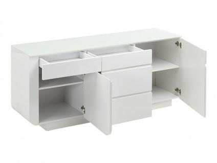 Sideboard Design Hochglanz Bend - Vorschau 4