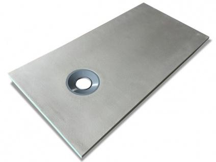 Duschwanne Duschtasse zur Selbstgestaltung DELOS - 1600x800x40mm