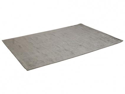 Teppich LOUVAIN - 100% Viskose - 160x230 cm - Anthrazit - Vorschau 3