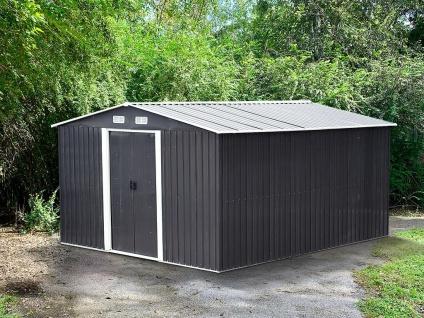 Gerätehaus Gartenhaus MANSO - Stahl - 13m²
