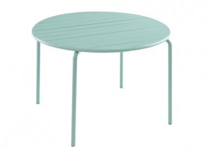 Gartentisch Esstisch MIRMANDE - Durchmesser: 110 cm - Grün