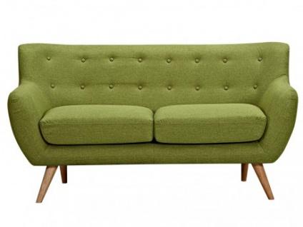 2-Sitzer-Sofa Stoff Serti - Grün