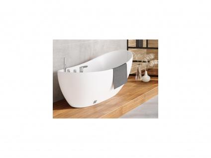Freistehende Badewanne NATALIA - 282 L - Weiß