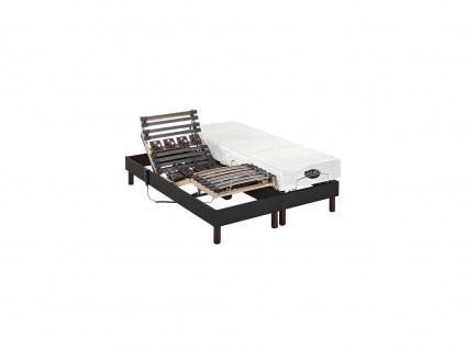 Matratzen elektrischer Lattenrost 2er-Set mit Motor Thesee - 2x70x190 cm