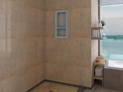 Duschnische zum Verfliesen & Regalboden KLARA - 31 x 62 cm