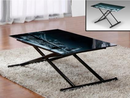 Tisch Glas Midnight - Höhenverstellbar - Vorschau 3