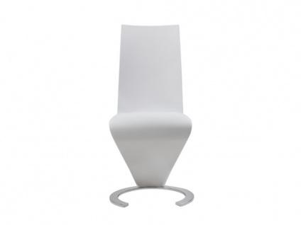 Stuhl 2er-set Twist - Weiß - Vorschau 4