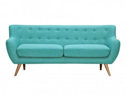 3 sitzer sofa stoff serti t rkis kaufen bei kauf. Black Bedroom Furniture Sets. Home Design Ideas