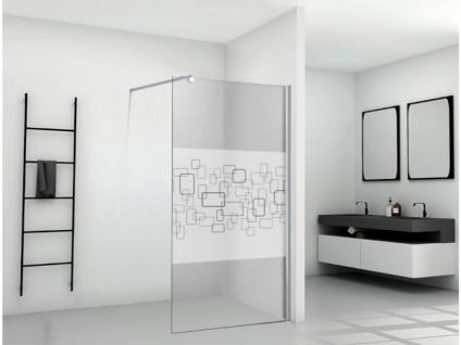 Duschtrennwand Seitenwand italienische Dusche Paulina - 140x190 cm