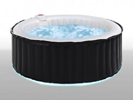 LED-Whirlpool aufblasbar B-Light mit Farbwechsel - 6 Personen