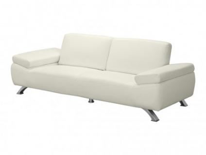 Sofa 3-Sitzer Polka - Elfenbeinfarben