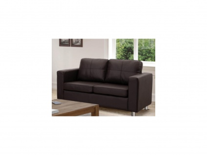 Sofa 2-Sitzer Ackley - Braun