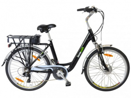 Pedelec E-Bike 36V 26 Zoll Belair II - Schwarz