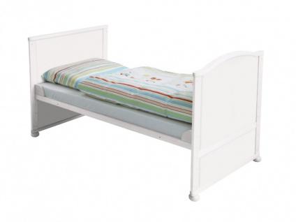 Babybett Kinderbett Fanny - Weiß - Vorschau 5