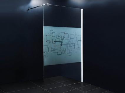 Duschtrennwand Seitenwand italienische Dusche Paulina - 120x190cm