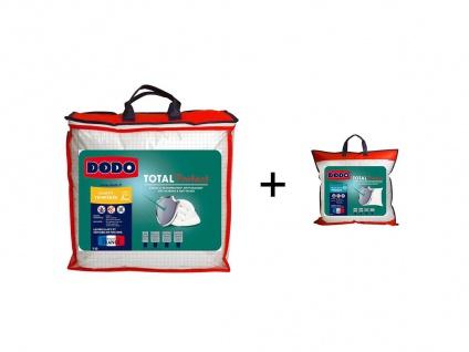 Sparset DODO: Bettdecke für milde Temperaturen 140 x 200 cm + Kopfkissen TOTAL PROTECT 60 x 60 cm