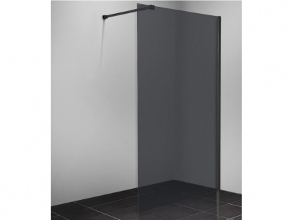 Duschtrennwand Seitenwand italienische Dusche MALIKA - 140x200cm