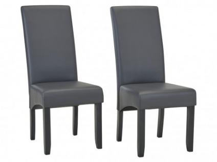 Stuhl 2er-Set ROVIGO - Grau