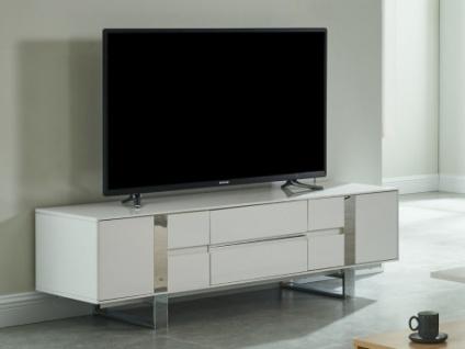 TV-Möbel PETILLANTE - 2 Türen & 2 Schubladen